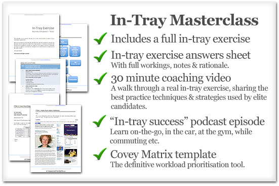 In-Tray Exercise | Free Example In-Tray Exercise & Top Tips