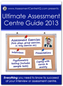 assessment centre ultimate guide