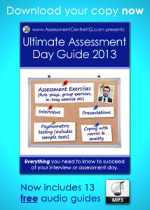 assessment day ultimate guide