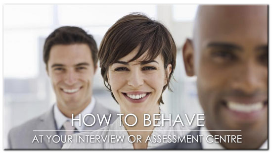 Post image for 10 Social Etiquette Tips For Interview & Assessment Centre Success
