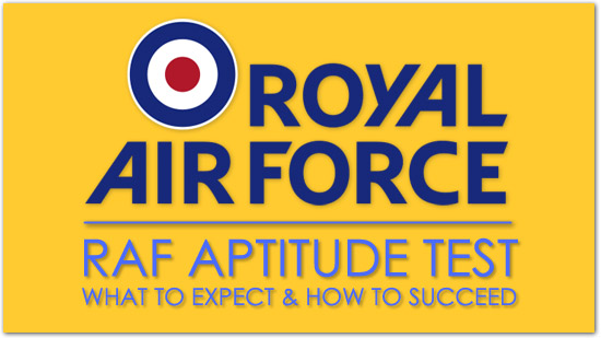 Post image for RAF Aptitude Test – 2019 Success Guide: What To Expect & How To Succeed