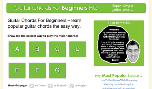 Free Guitar Chord Lessons For Beginners Assessment Centre Hq