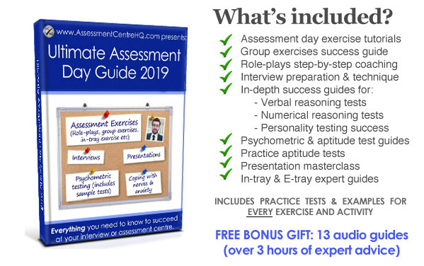 Ultimate Assessment Day Interview Guide 2019 The Latest