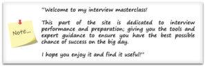 assessment centre interview